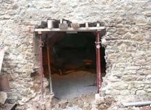 Rénovation d'une ouverture en Ardèche