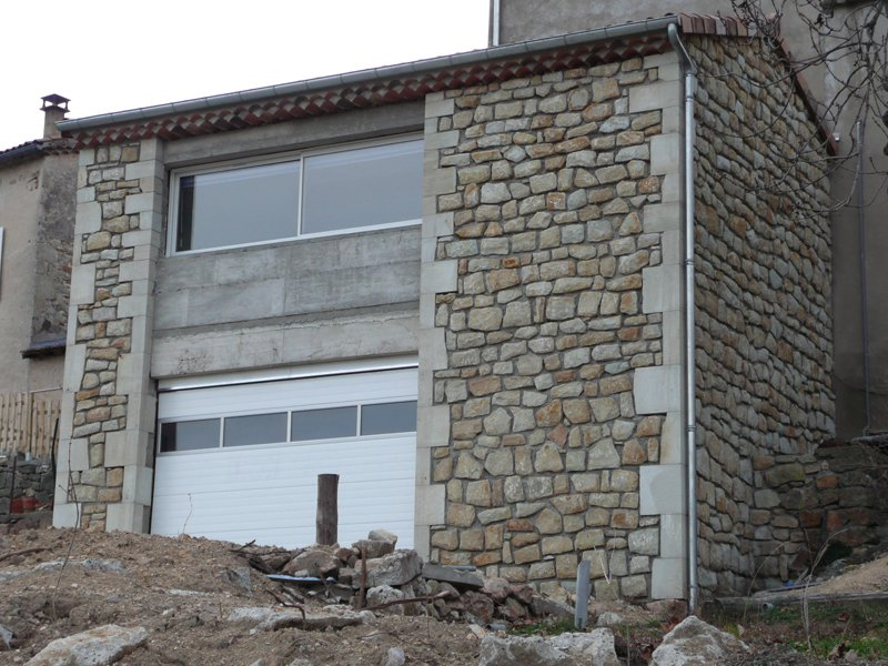 Construction en pierre