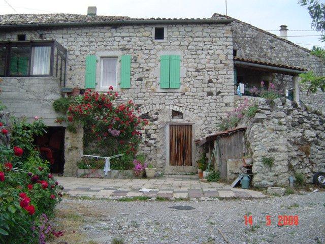 Façades maison Ardèche sud