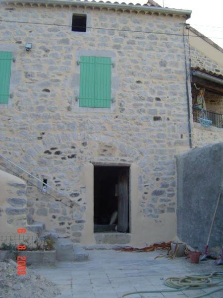 Rénovation de façade en pierres