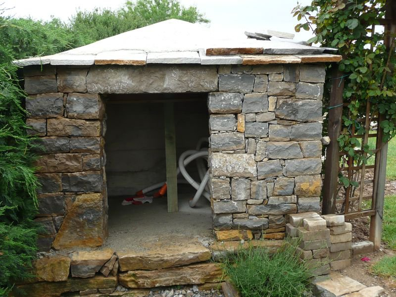 Création de murs en pierres sèches